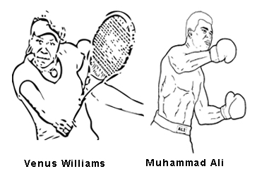 venus serena williams coloring pages | All About Me coloring book